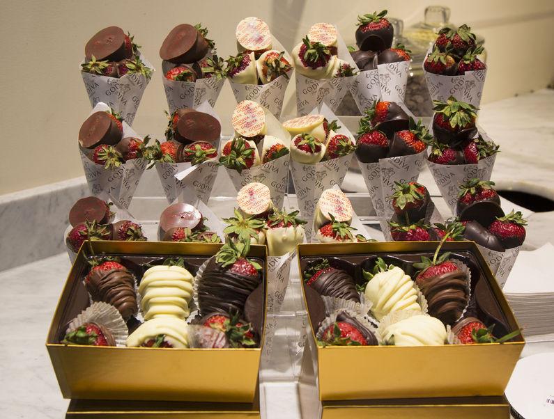 チョコレート ディップ ド ストロベリー