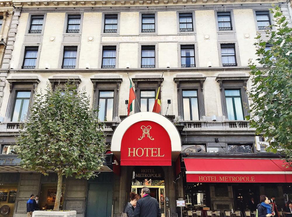 ホテルメトロポール 正面入り口