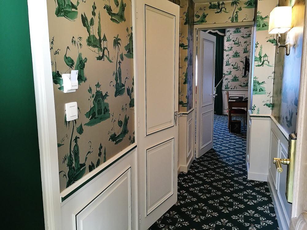 ホテル メトロポール ブリュッセル 部屋写真