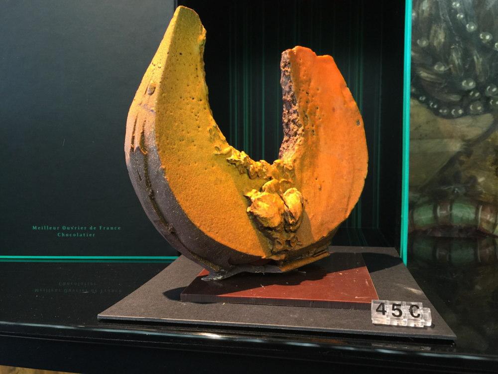 パトリックロジェ 彫刻チョコ