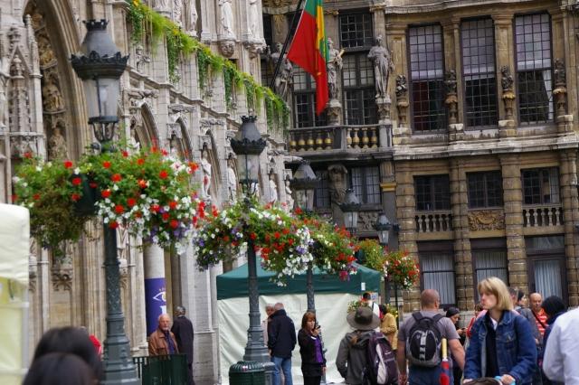 ベルギーの治安 グランプラス