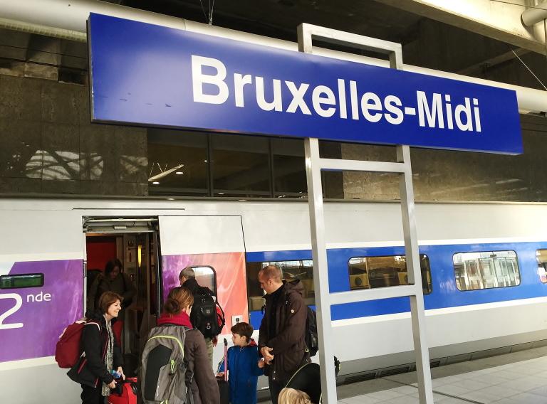 ブリュッセル南駅(Bruxelles Midi)