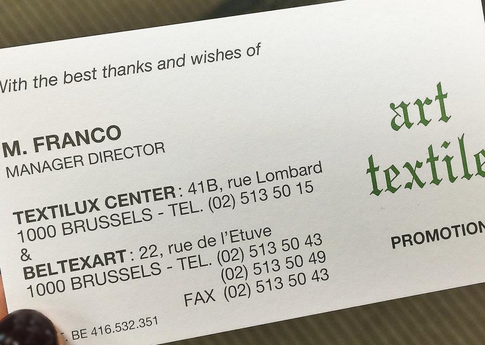 Textilux Center 住所 地図 場所